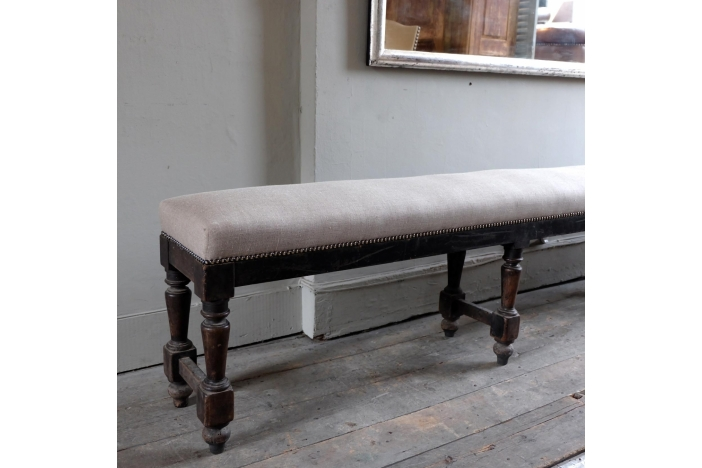 Very Long Antique Stool