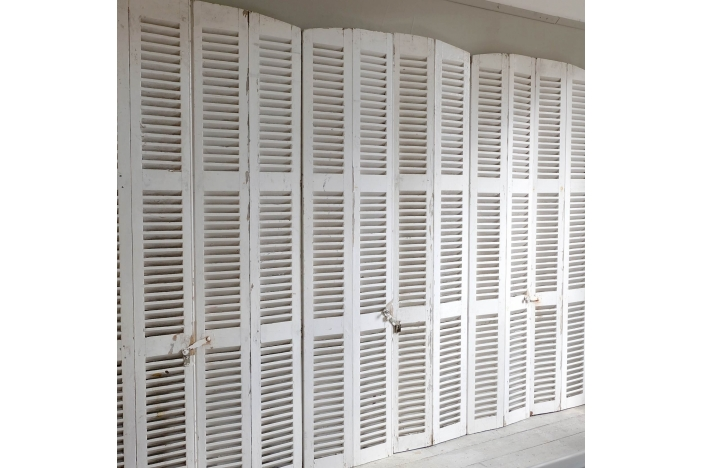 French Louvered Shutters