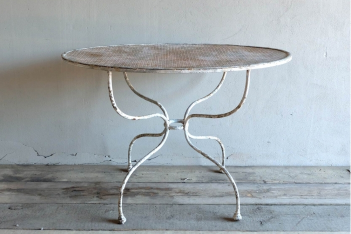 Unusual Oval Outdoor Table
