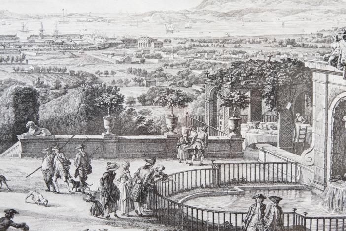 The Port of Toulon c. 1760