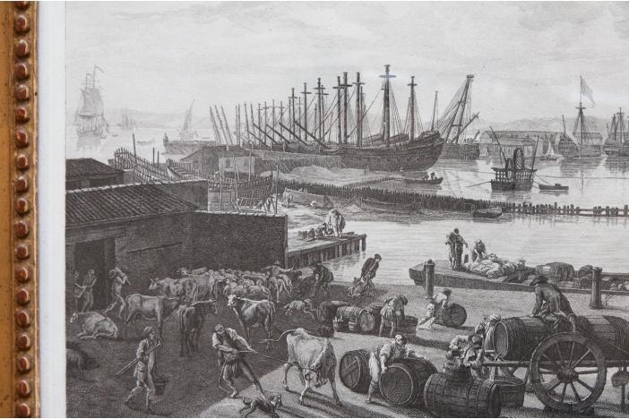 'Le Port Vieux' c.1760