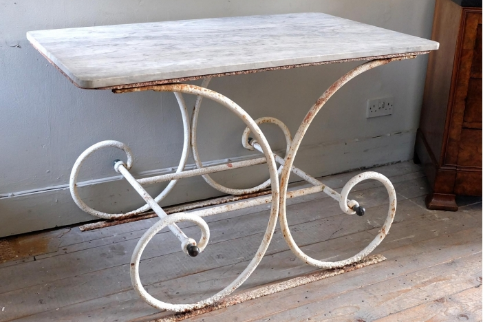 Early 20th C. Patisserie Table
