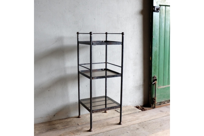 French Metal Etagere