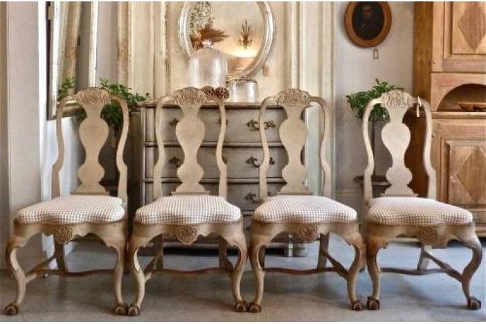 Swedish Rococo Style Chairs ...