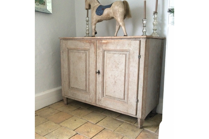 Large Period Gustavian Buffet