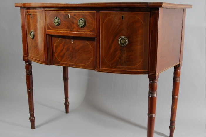 Small mahogany sideboard
