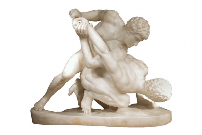 Italian 19th C. marble statue