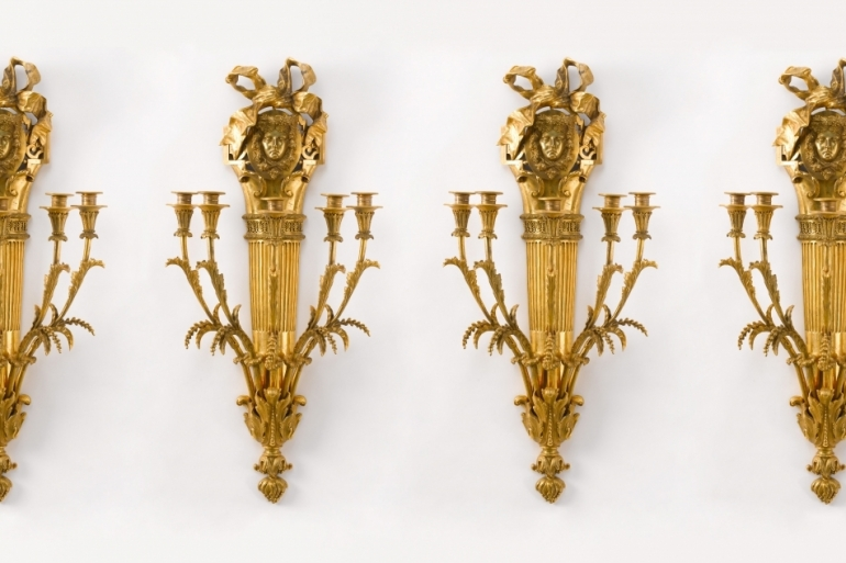 Four Wall-Lights, 19th C