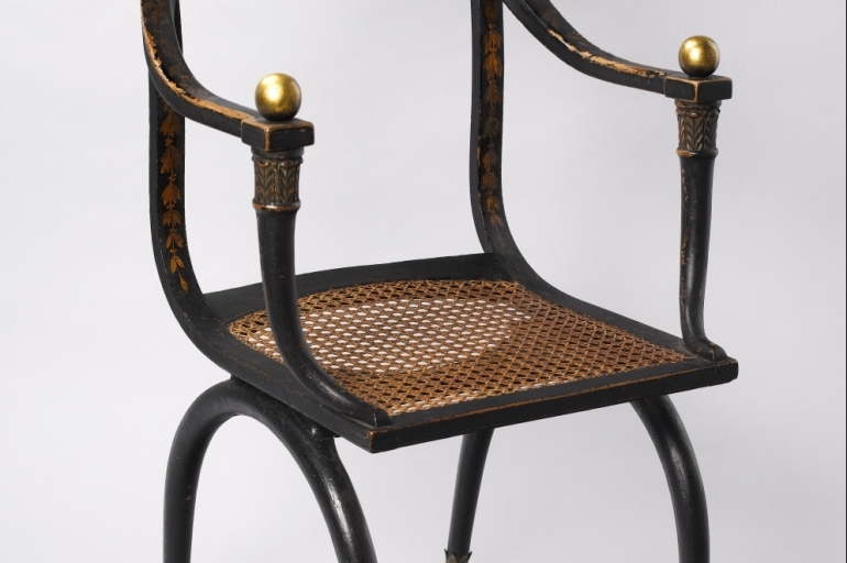Empire Armchair, Early 19th C