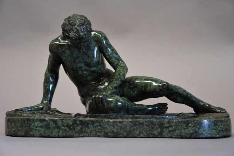 Serpentine figure 'Dying Gaul'