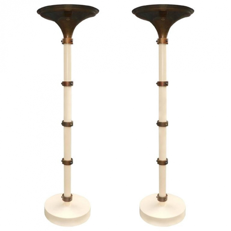 Pair of Floor Lamps 1970