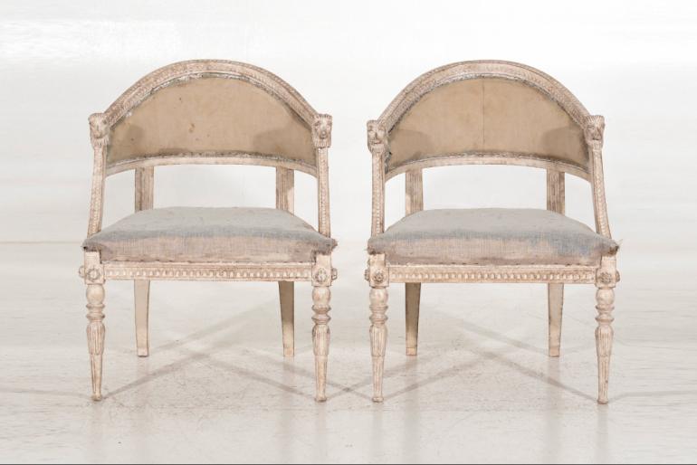 Swedish chairs, 19th C.