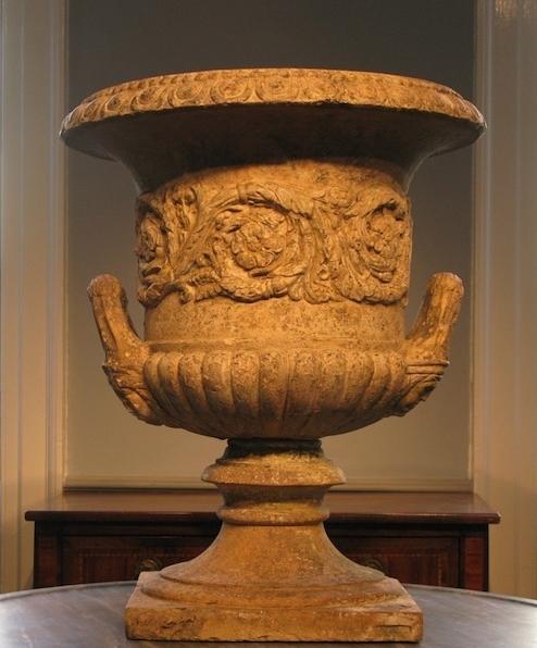 C19th Terracotta Garden Urn