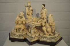 Chinese ivory (17 pieces)