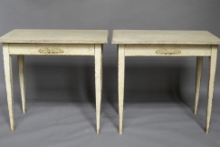 Pair of Gustavian Tables