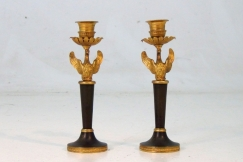Russian candlesticks 19th C.