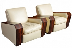Pair of Art-Deco Armchairs