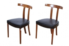 Two Chairs by Ole Wanscher