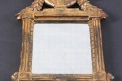 Gustavian mirror giltwood