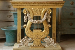 Late gustavian consoltable