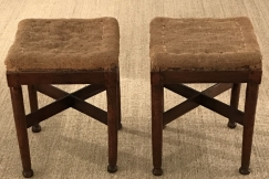 Directoire Pair of Stools