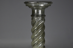 19thc French serpentine column
