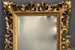 Florentine giltwood mirror