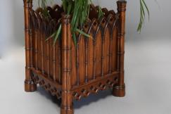 Gothic style elm planter
