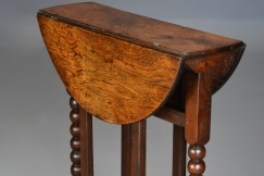 Rare 17thc small gateleg table