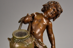 19thc French water carrier