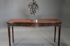 Adam style mahogany table