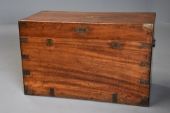 19thc camphor wood trunk