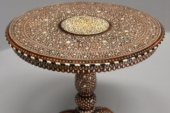 Anglo Indian circular table