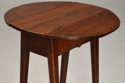 Ash & oak drop leaf table