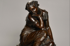 French bronze 'Reflections'