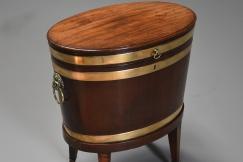 18thc mahogany cellaret