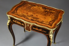 19thc Kingwood centre table