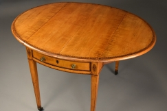 18thc sycamore Pembroke table