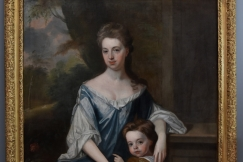 Large 18thc oil painting