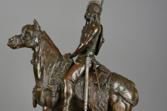 'Gallic Horseman' bronze