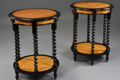 Pair of 19thc Ceylonese tables