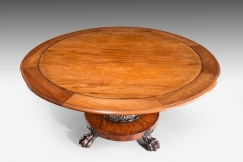 Tilt-Top Dining Table