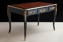 Louis XV Ebonised Desk