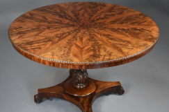 William IVth mahogany table
