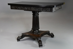 Rare Ceylonese ebony table