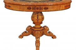 19th C. Charles X st. table