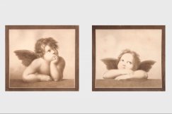 Angels on paper, 19th C.