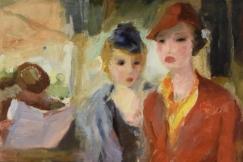 Art Deco paintin C. Brunt