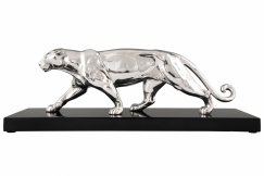 Ouline Art Deco panther