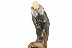 Art Deco sculpture S. Bertrand